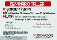 La Fundación del banco dictará seminario Taller de marketing y Ventas para Emprendedores